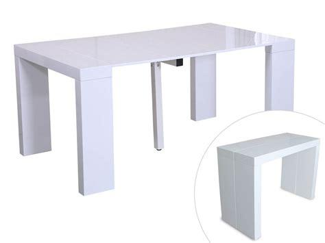 table console extensible blanc laque best console extensible laqu 233 images transformatorio us transformatorio us