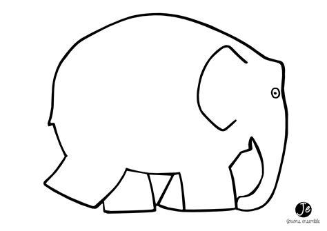 pieds cuisine elmer l 39 éléphant en gommettes jouonsensemble