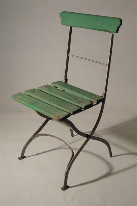 diverses chaises de jardin pliables anciennes vendu