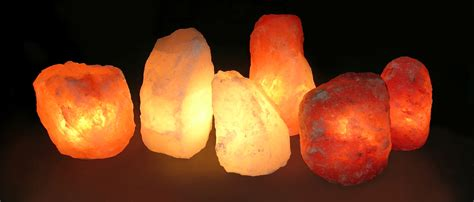 Natural Salt Crystal Lamps Produce Healthy Negative Ions