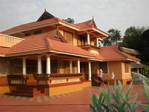 Traditional kerala house elevations, Designs, Plans ...