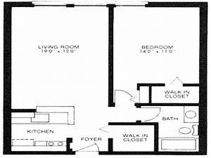 500 Square Feet Floor Plan