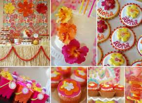 hawaiian birthday party idea for girls aloha