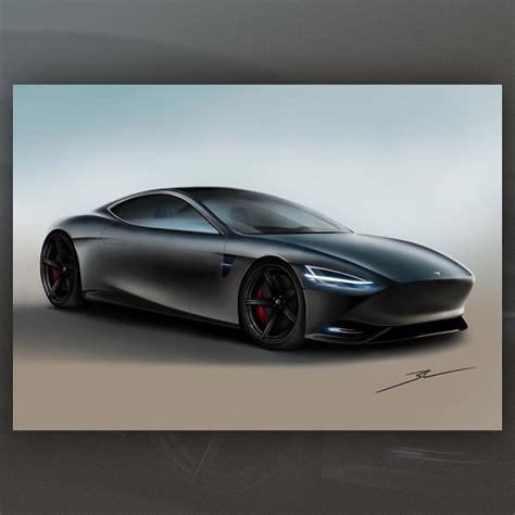 Tesla X Ferrari Is the Italian American Sports Car Done ...