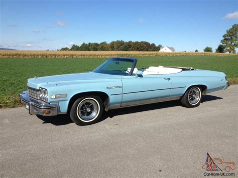 Buick Lesabre Convertible For Sale by 1975 Buick Lesabre Convertible
