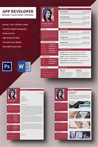 Cv Cover Letter Template Word 24 Php Developer Resume Templates Doc Pdf Free
