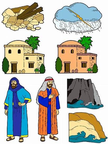 Wise Foolish Rock Built Bible His Upon