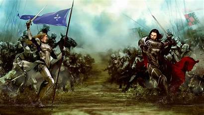 Medieval Wallpapers Battle Warrior Cool Backgrounds Wallpaperaccess