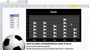 Deutsch Fu U00dfball Bild-diagramm In Excel