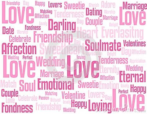 love wordcloud background royalty  stock image image
