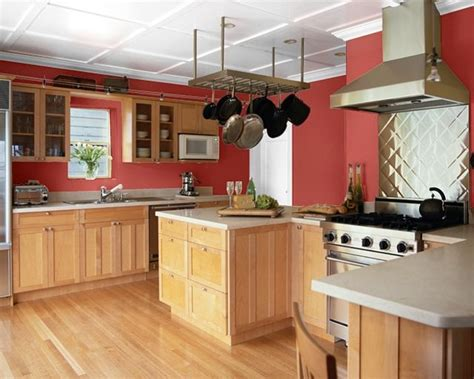 Rustic Red Painted Kitchen Cabinets Images Favorite