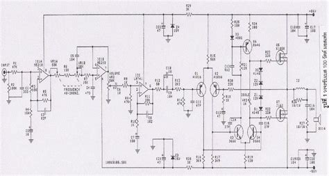 subwoofer amplifier circuit electronics projects
