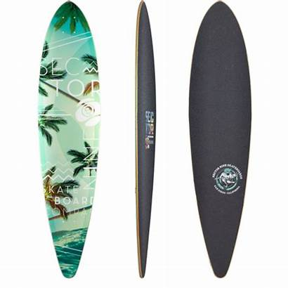 Longboard Sector Skateboard Ledger Tropics Custom Complete