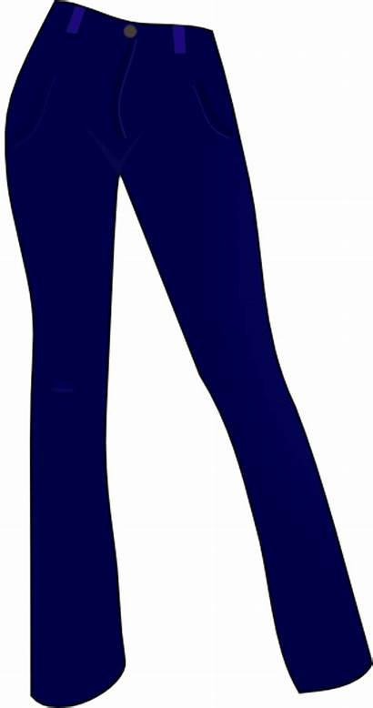 Pants Clipart Jeans Vector Clip Tights Trousers
