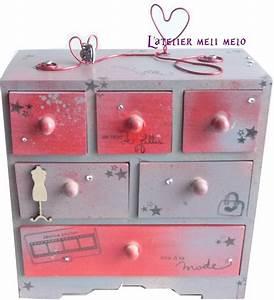 Petite Boite En Bois : boite a bijoux en bois pour petite fille visuel 3 ~ Teatrodelosmanantiales.com Idées de Décoration