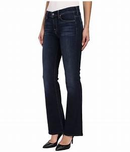 Hue Denim Size Chart 7 For All Mankind Bootcut Short Inseam In Nouveau New York