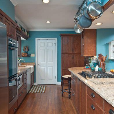 Kitchen Teal Wall Design, Pictures, Remodel, Decor And