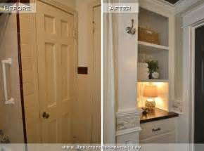 10 Inch Wide Storage Cabinet by Diy Bathroom Remodel Before Amp After