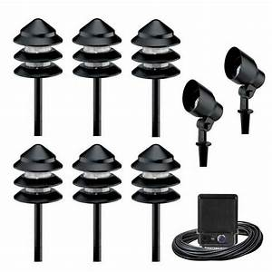 Amazing outdoor landscape lighting kits low voltage