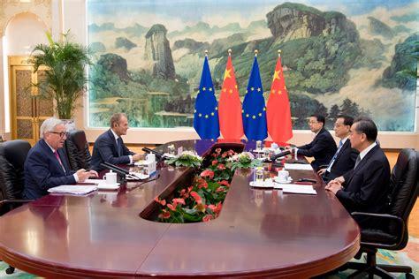 europe shifts gear  balance relations  china