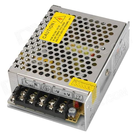 sanpu 60w 12v 5a power supply driver w switch for led