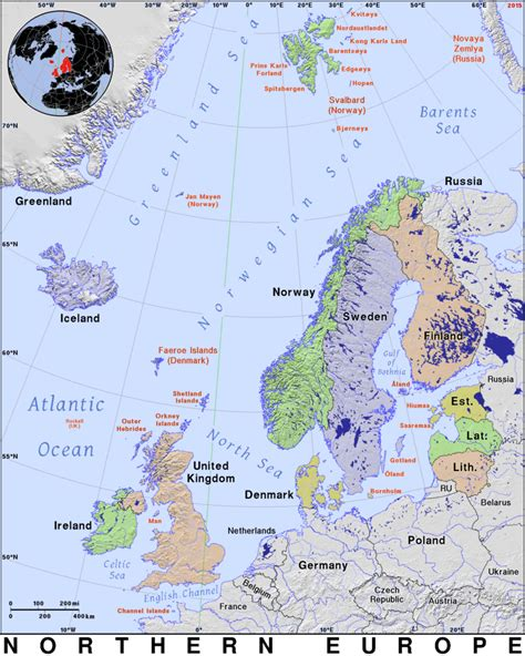 northern europe public domain maps  pat