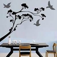 trending tree wall decals Lollipop Tree Wall Decal, Large Tree Wall Stickers, Trendy Wall Designs