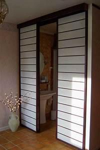 Cloisons Mobiles : cloisons japonaises coulissantes osaka travaux chambre ~ Melissatoandfro.com Idées de Décoration