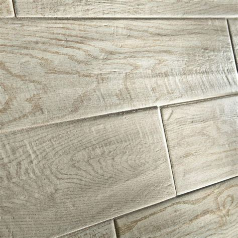 home depot marazzi wood look tile marazzi montagna white wash 6 in x 24 in glazed