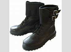 Russian special forces SPETSNAZ & OMON winter leather boots