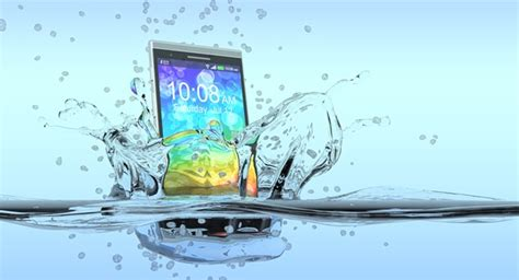 what to do when phone falls in water how to easily rescue phone after water