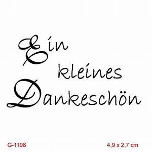 Dankeschön Sprüche Bilder : pp stamps motivstempel ein kleines dankesch n 1198 ~ Frokenaadalensverden.com Haus und Dekorationen