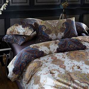 White, And, Blue, Floral, Bedding, And, Other, Beautiful, Print, Design