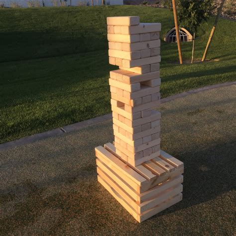 backyard jenga summer outdoor for the family diaries of a