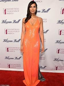 Padma Lakshmi Nearly Bursts Out Of Her Dress | www ...