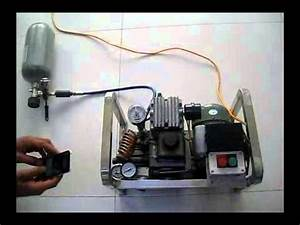 300bar Mini Portable Pcp Air Compressor 110v  220v Electric