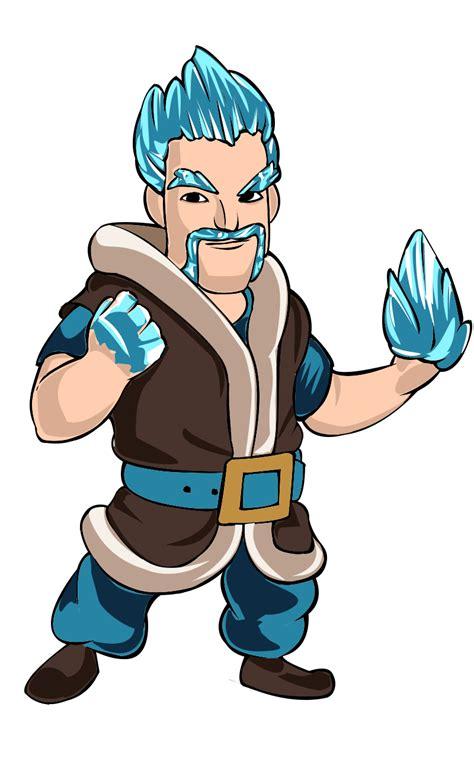 Mago de hielo Desenhos clash royale Jogo clash royale e