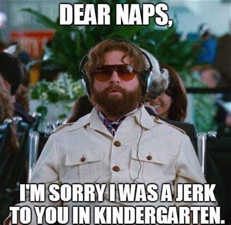 Funny Sorry Memes - dear naps i m sorry was a jerk to you in kindergarten favething com