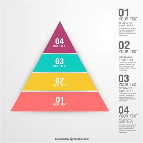 Theme Render Template Exle by Piramide Concept Infographic Vector Gratis Download