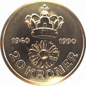 20 Kroner - Margrethe II (50th Birthday) - Denmark – Numista
