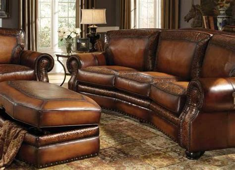 western leather sectional sofa western leather sofa western style leather furniture the