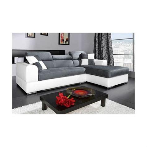 canapé blanc en cuir photos canapé d 39 angle cuir gris et blanc