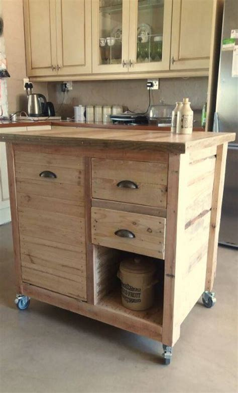 wood kitchen islands pallet wood recycling project ideas pallet ideas 1145