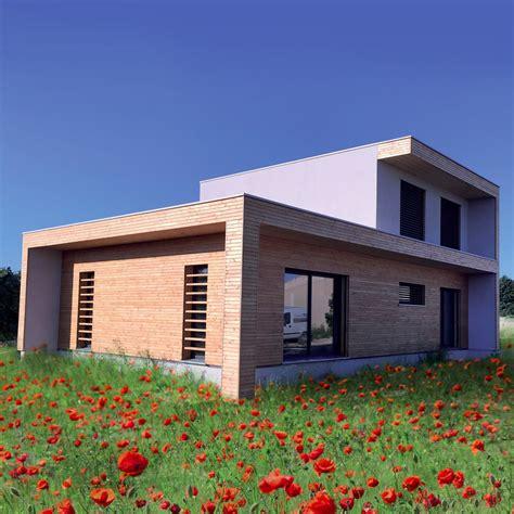 cout construction maison bois maison moderne