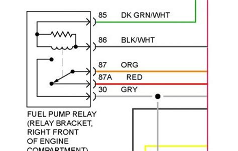 1985 Buick Century Wiring Diagram by 1996 Buick Century Fuel Relay Electrical Problem