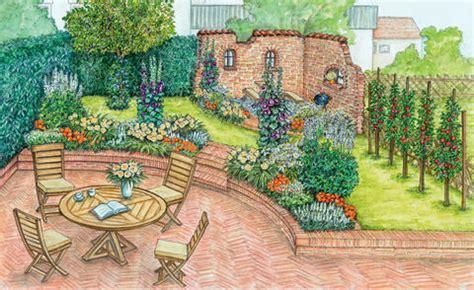 Garten Gestalten Zeichnung by Wellness Garten Gestalten Mein Sch 246 Ner Garten