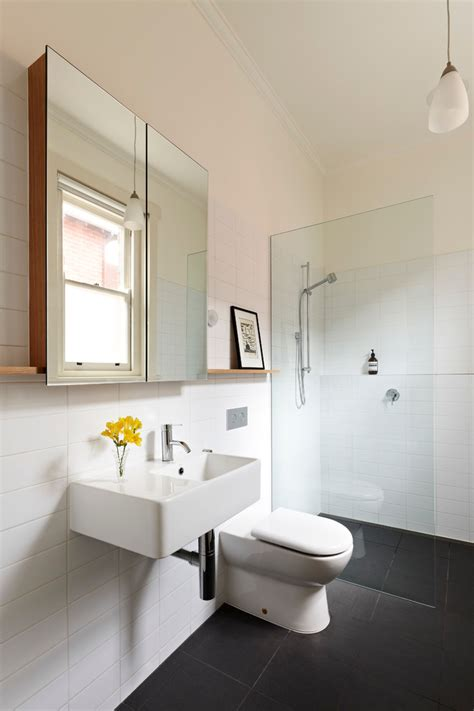 Cool Modern Bathroom Mirrors by Cool Bathroom Mirrors Powder Room Contemporary With Brown