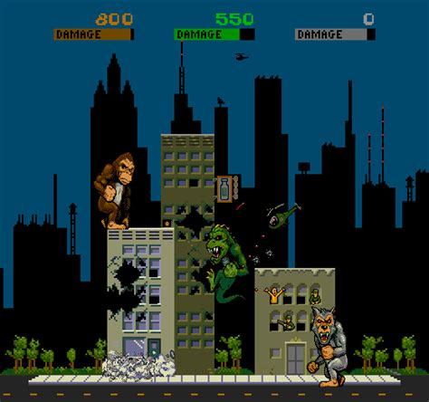 Live Action Rampage Film In The Works Starring Dwayne