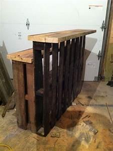Bar Exterieur En Bois : mini bar en bois de palettes voici 20 id es pour vous ~ Premium-room.com Idées de Décoration