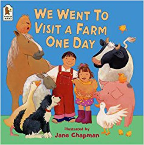 We Went To Visit A Farm One Day  The Learning Basket
